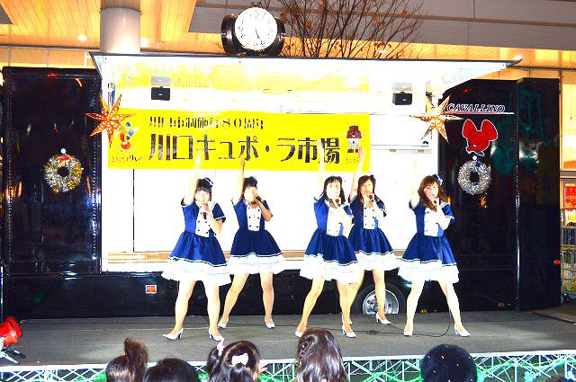 川口駅前イルミネーション 018