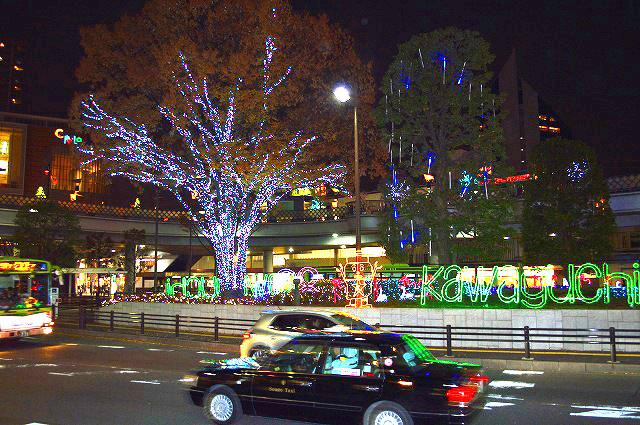 川口駅前イルミネーション 022