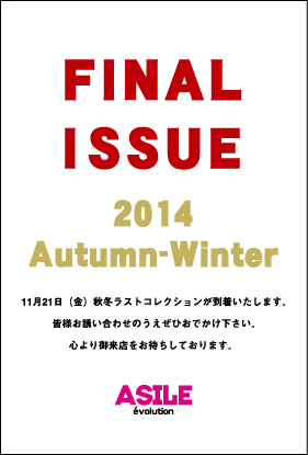 2014FW-DM11月表