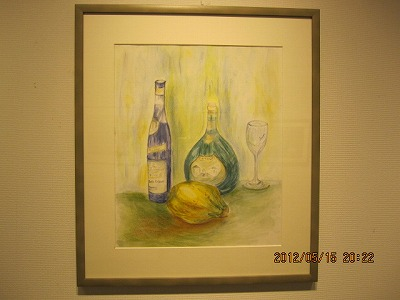 果実と瓶 8号 吉澤笑子