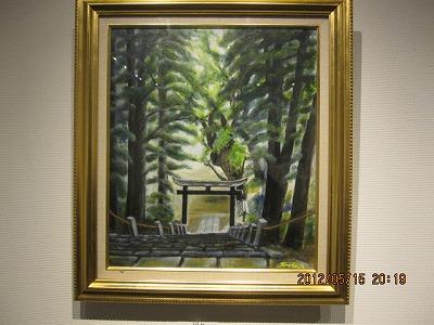 祈り(八幡神社) 興梠保
