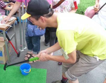 パターゴルフに挑戦!!