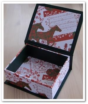 クリスマスボックス 白1
