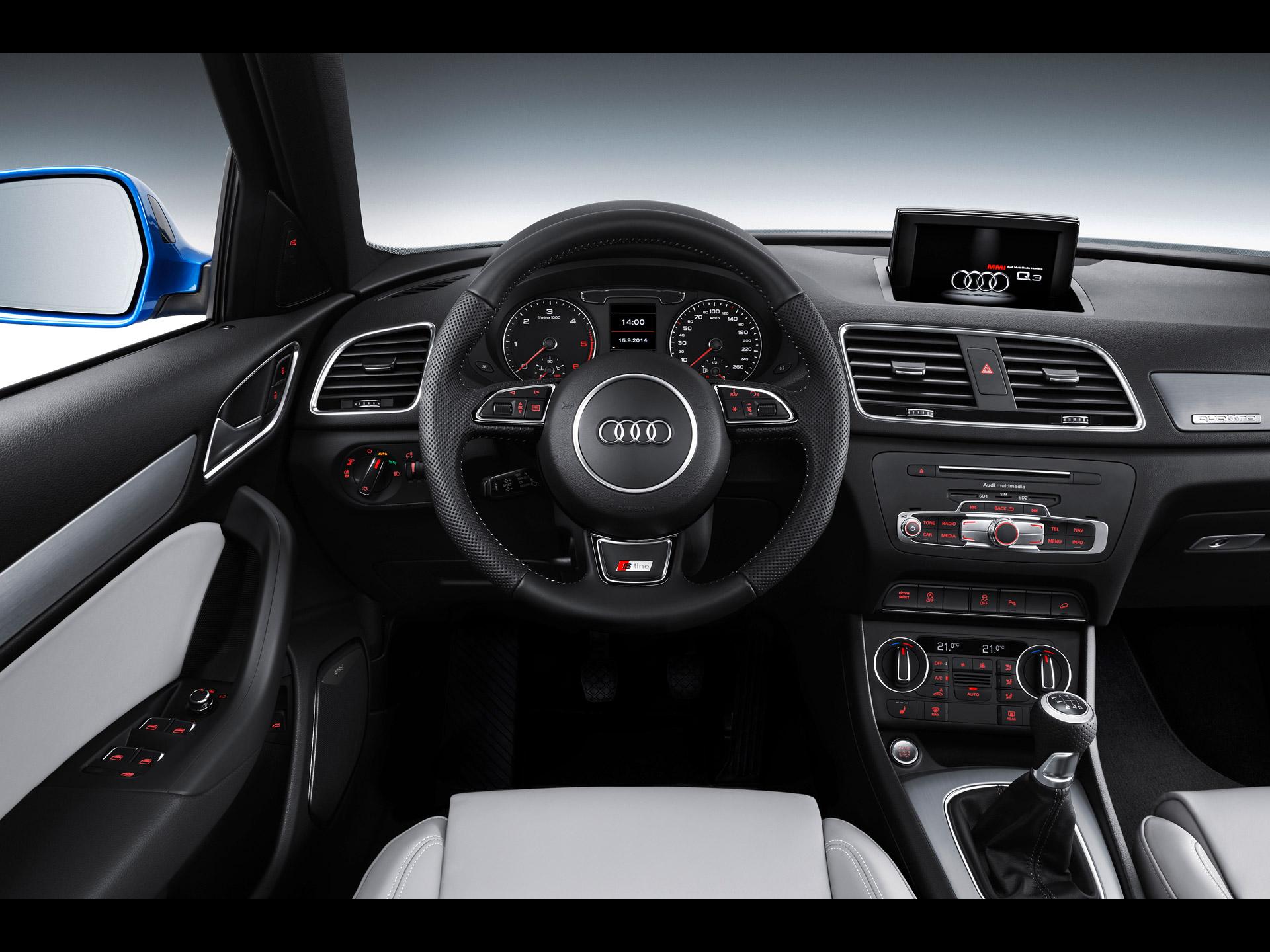 Audi q3 s line 2015 for Interieur q3 s line