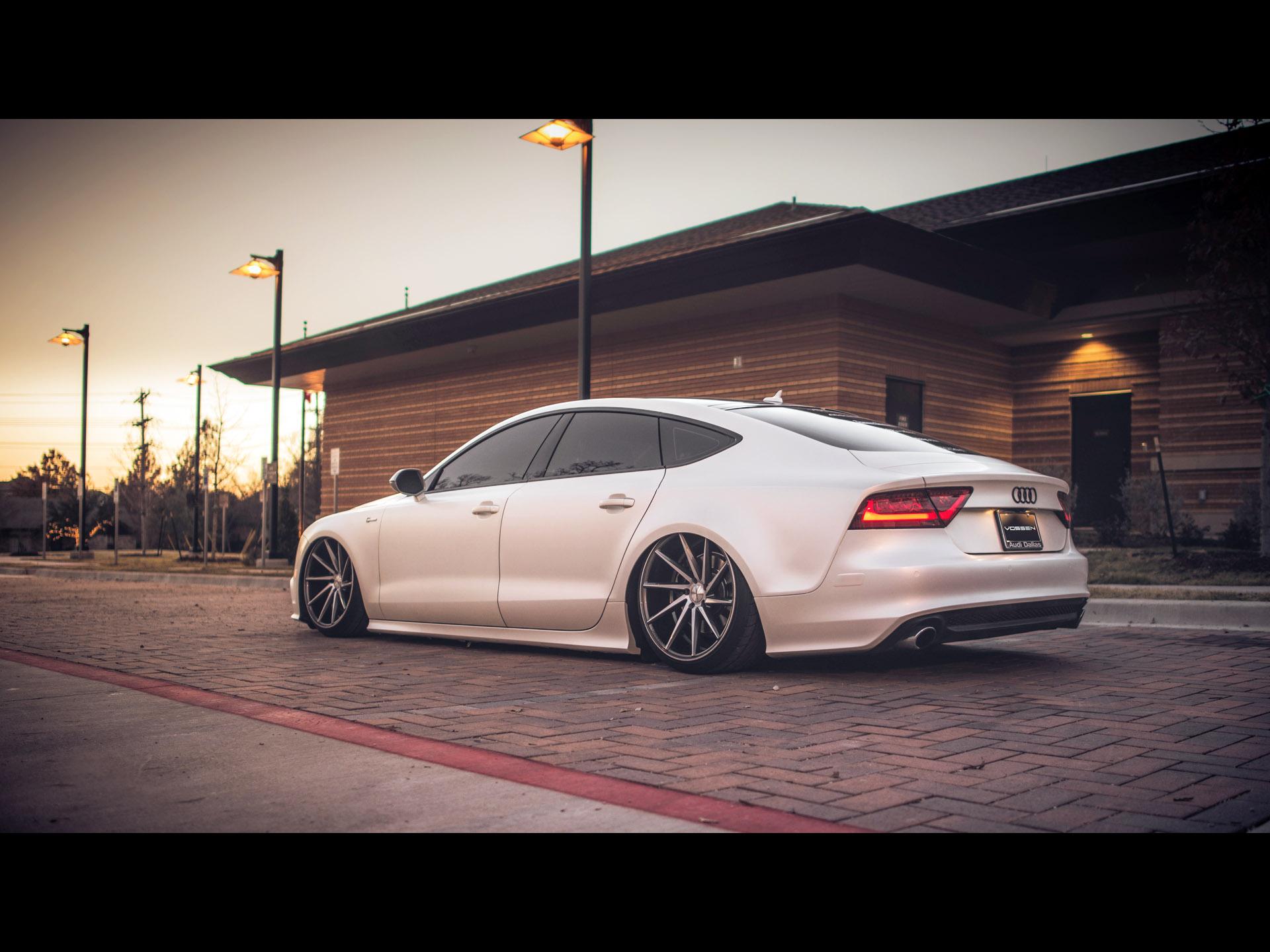 Vossen Wheels Audi A7 Sportback S Line 2014 アウディに嵌まる
