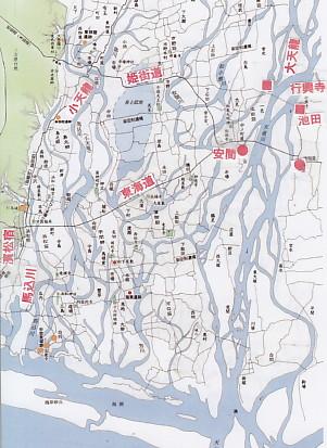 16世紀頃の天竜川流域
