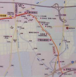 市野宿付近地図