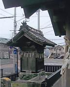 小松秋葉神社・秋葉燈籠鞘堂