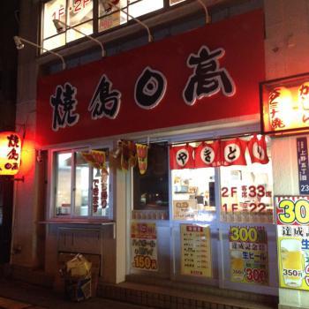 焼鳥日高 御徒町昭和通店