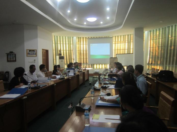 ミャンマーで年次報告会を開催しました!①