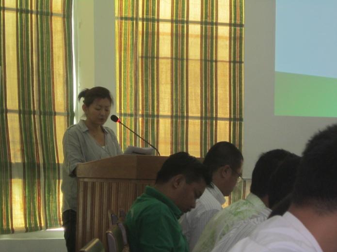 ミャンマーで年次報告会を開催しました!②