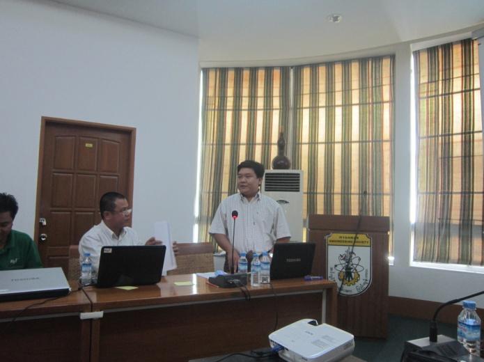 ミャンマーで年次報告会を開催しました!③