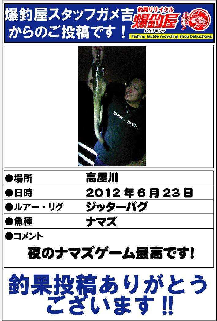 ガメ吉20120624