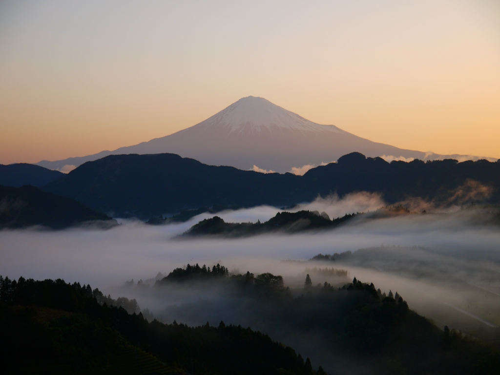 清水吉原 雲海と富士山4