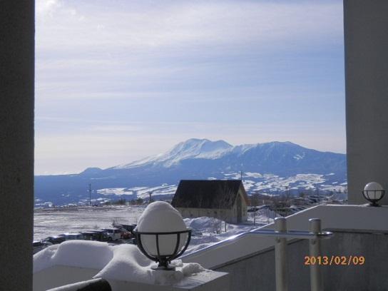 2/9 パルよりの浅間山