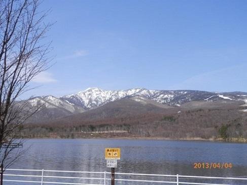バラギ湖 四阿山