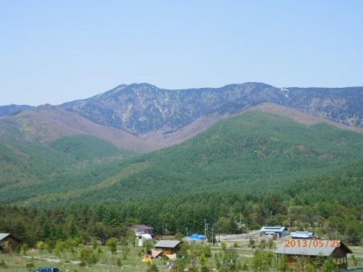 バラギ高原、四阿山