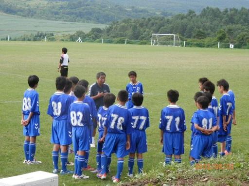 高原のサッカー合宿