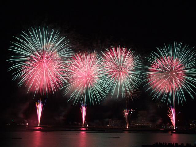 熱海海上花火大会 2012年夏の花火(1)