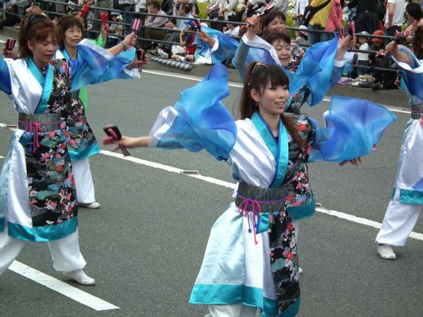 ライオンズクラブ国際協会330B地区チームによるよさこい踊り
