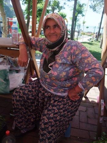 市場の女性