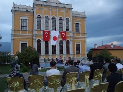 博物館開会式