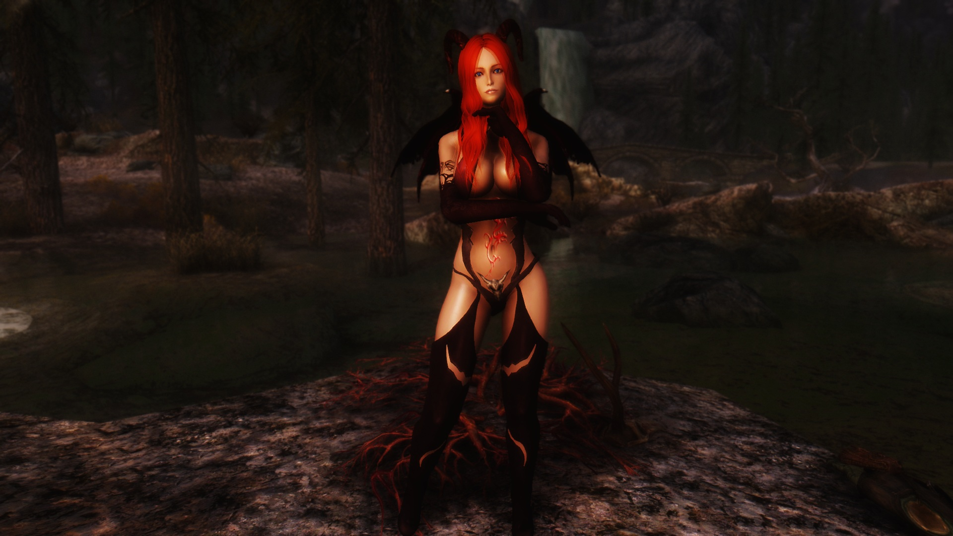 Skyrim succubus boobs sexy films