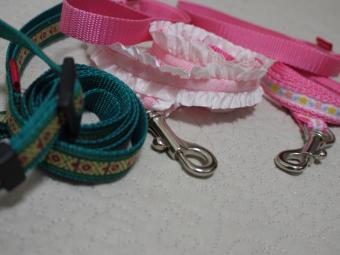 ピンクとグリーン