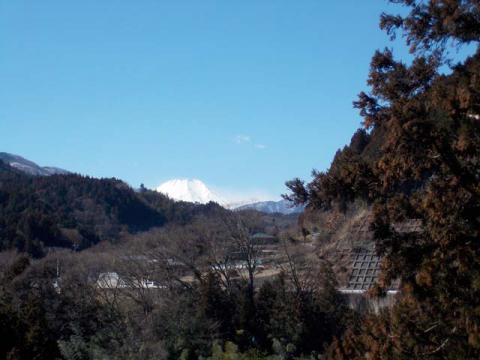 006道志の富士山