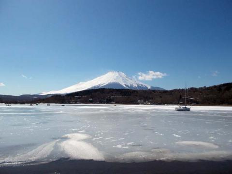 026山中湖の富士1