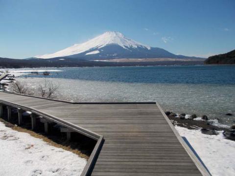 046山中湖の富士6
