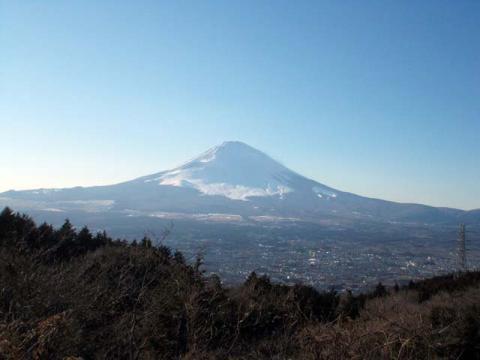 069乙女峠の富士山