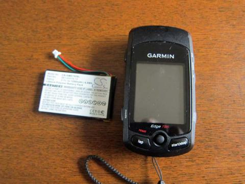 Edge705バッテリー交換1