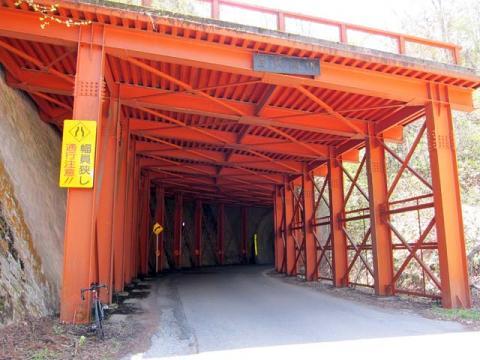 21嶺方峠の白沢トンネル2