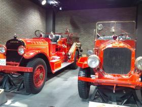 クラシック消防車