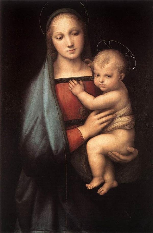 raphael_granduca_ラファエロ『大公の聖母』