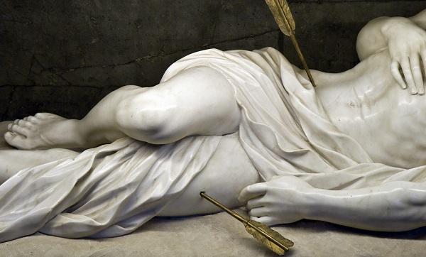 Giuseppe Giorgetti『Martyrdom of St Sebastian』(1671)