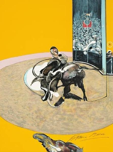 フランシスベーコン作《闘牛のための習作Ⅰ》1969