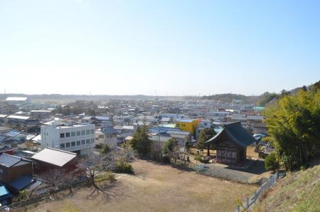 20130224江戸崎八景 医王山の暮雪06