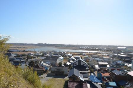 20130224江戸崎八景 医王山の暮雪05