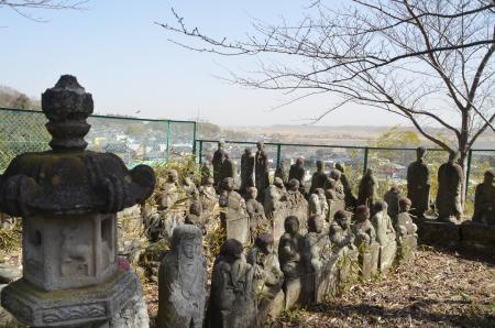 20130224江戸崎八景 羅漢山の夕照08