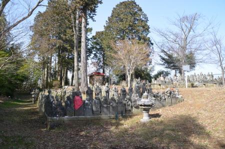 20130224江戸崎八景 羅漢山の夕照10
