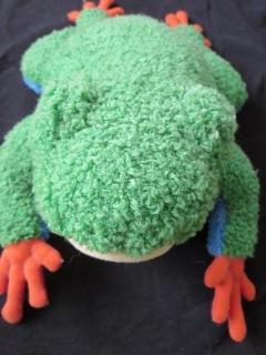 蛙ごあいさつ