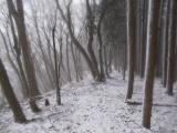 雪道を走る