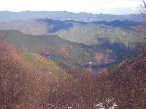 川乗山から棒ノ折山へ