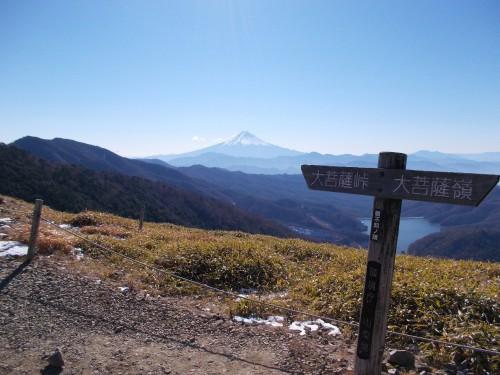 再訪・大菩薩嶺-丹波山から西へ