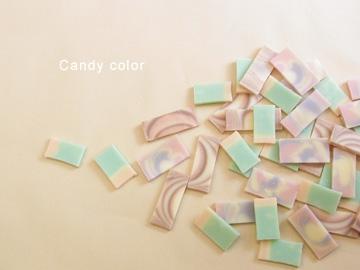キャンディーカラー石鹸1