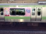 ラブライ電車3両目