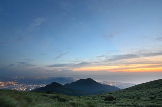 山頂の夕焼け(3)