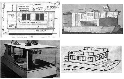 Do it yourself houseboat plans vocujigibo for Boat house plans pictures